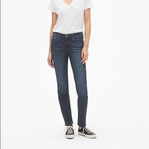 Gap Mid Rise Classic Straight Jeans EUC